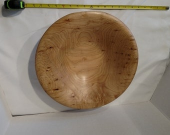 1612-Silver Maple Bowl