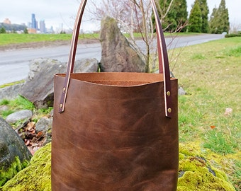 Robin Tote -  Smooth Brown