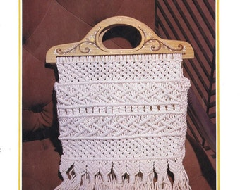 Macrame Bag PDF Pattern