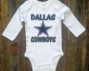 Dallas Cowboys Football Onesie