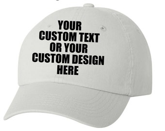 Custom hats for kids and adult.