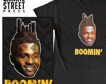Antonio Brown Boomin' Pittsburgh Skyline T