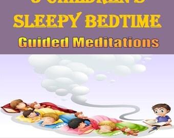 Children's Sleepy Bedtime Guided Meditations CD