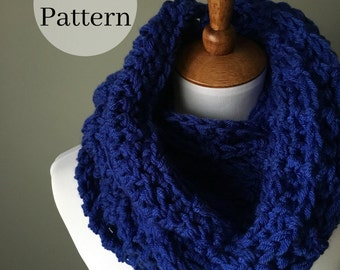 the Infinity Post Scarf PDF Pattern | Crochet Scarf | Crochet Pattern | Infinity Scarf | Pattern | Instant Download