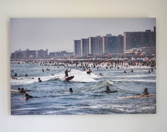 Rockaway Beach NYC Photo Print Summer 2012