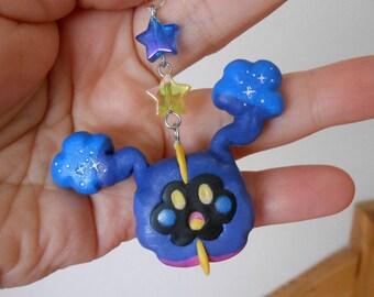 Pokemon Cosmog polymer clay charm