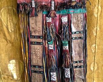 Old curtain touareg