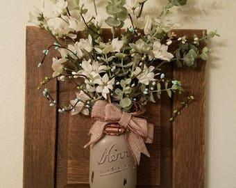 Farmhouse Bouquet Jar
