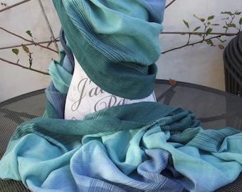 Handwoven baby wrap cotton/hemp 4m