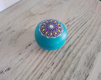 Colourdrops Mandala Jewelry Box
