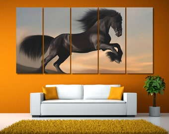 Extra Large Horse Print Art, Horse Wall Art Decor, Horse Lovers Gift, Nursery Prints Horse Canvas Art, Horse Photography, Nature Lover Gift