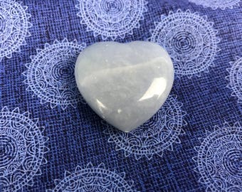 Angelite Heart 1'