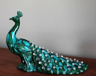Holland Mold Peacock Lamp