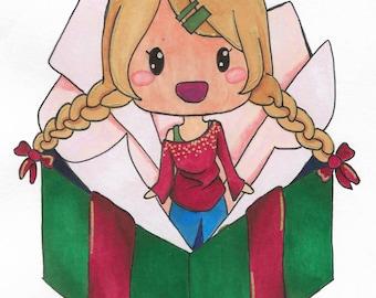 Kerst aanwezig verrassing Chibi ~
