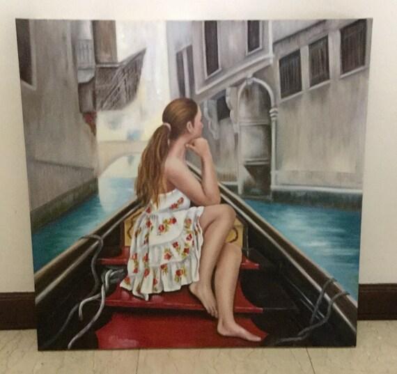 Original Oil Painting, 36*36 in