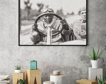 Sports Decor, Jack Johnson Photo, Heavyweight Boxing Champion, 1910, Boxer Gift Idea, African American, Boxing Poster, Boxing Sport