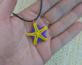 SALE Starfish pendant, starfish necklace, starfish jewelry, large starfish, , handmade pendant, starfish accessories