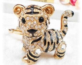 Lovely Little Tiger keychain