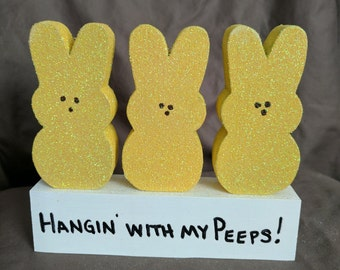 Hangin' With My Peeps - Small Yellow