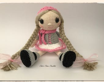Little doll to crochet
