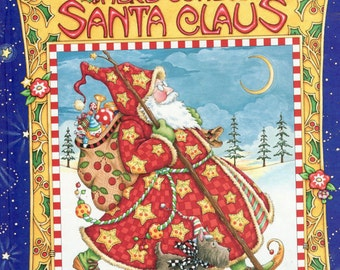 SALE! Mary Engelbreit Here Comes Santa Claus Book