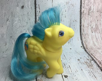 Baby Bouncy - G1 First Tooth Baby Pony Pegasus - My Little Pony