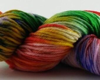 Easter Hangover - 100% Superwash Merino Wool SW Hand Dyed Worsted Weight Yarn
