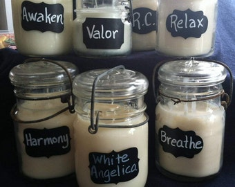 Organic Aromatherapy Soy Candles
