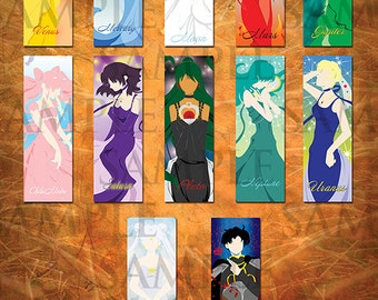 Sailor Moon Bookmarks (Set)