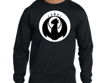 Custom fitted thick crewneck