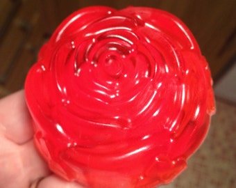 Large Rose Shaped Soap