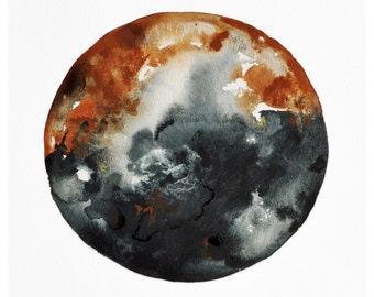Dusk Moon Print, 11x14