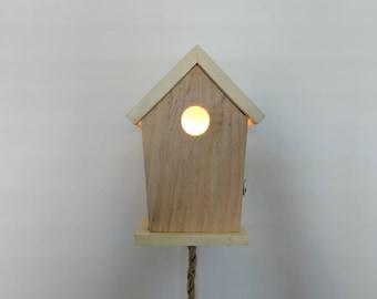 Nice handmade Bird House night light (LED)