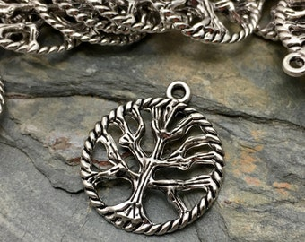 Tree of Life Charms - Silver Tone - 35 Available