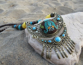 Vintage Embroidery Jewelry