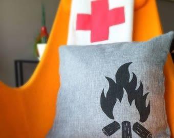 Campfire Cushion Cover