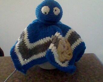 Cookie Monster Hand Blankie