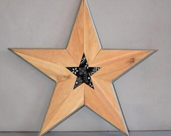 Wooden Star 5117