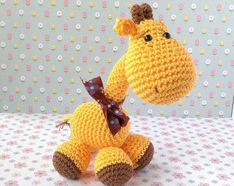 Giraffe crochet amigurumi doll toy /giraffe Periscopi