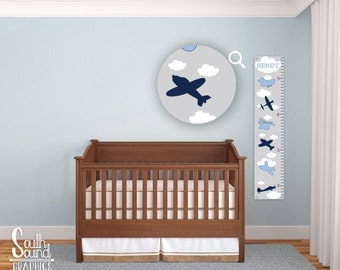 Growth chart decals etsy for Growth chart for kids room