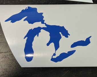 Great Lakes Vinyl Decal
