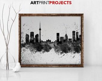 Toronto Cityscape Etsy