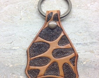 Leather craft Key holder