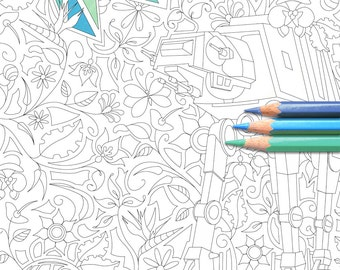 Bloomin' Empire - Star Wars Colouring Page