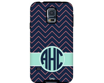 Monogram Galaxy S4 Case - Galaxy S5 Hard Case - Monogrammed S6 Case - Galaxy S6 Cute Case - Galaxy S7 Slim Case -Galaxy S3 Case- Note 3 Case