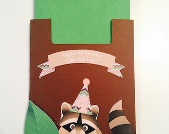 Raccoon Napkin Pouch