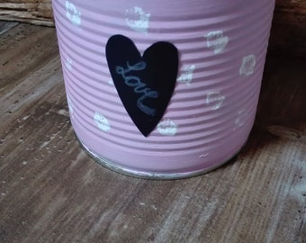 pink small storage or flower pot