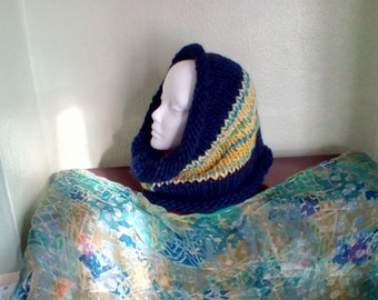 Winter cowl neck