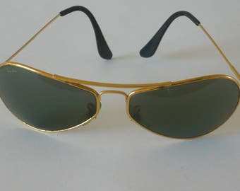 Vintage Ray Ban W2615 air boss by B & L