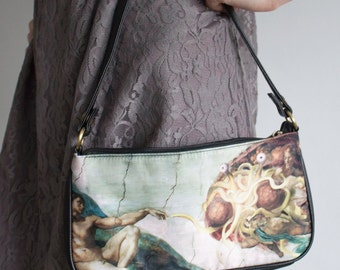 Flying Spaghetti Monster (Touched by His Noodly Appendage) Bag